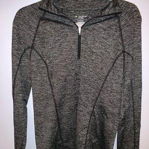 Jackets & Blazers - black and grey pullover sweatshirt